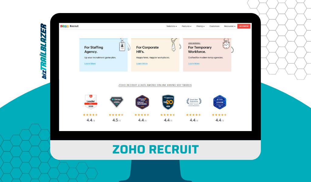 BizTrailblazer Blog - ZOHO recruit - HR management software