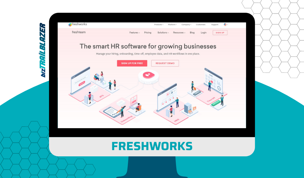 FRESHWORKS - Smart HR software -BizTrailblazer Blog